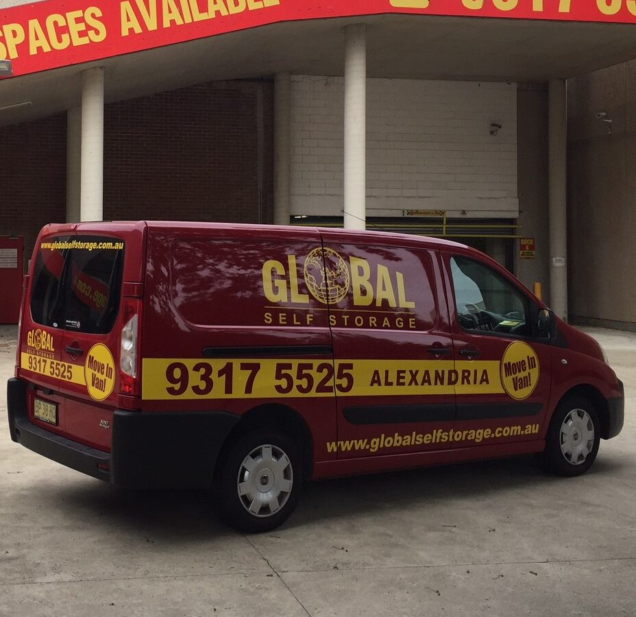 Global Self Storage Van